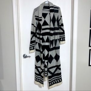 Foreign Exchange Long Sweater Duster